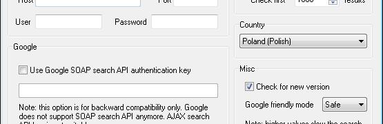 Free Monitor for Google - monitorowanie pozycji